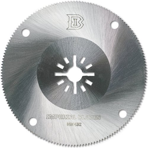 Imperial Blades Mm450 Universal Fit 4 Inch High Speed Steel Circular Oscillating Blade Fits Fein, Rockwell, Bosch, Milwaukee And Makita
