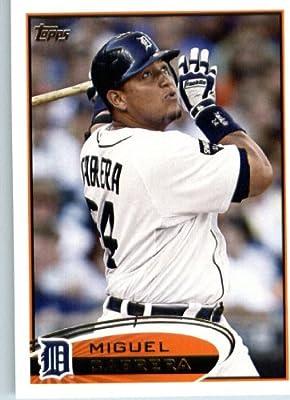 2012 Topps Baseball Card #200 Miguel Cabrera - Detroit Tigers - MLB Trading Card