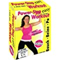 Easy Power - Step Aerobic Fatburner Workout (Bauch, Beine, Po) - 3 DVD Fitness Box -