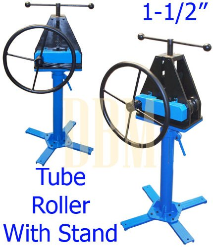 Tubing tube pipe roller rolling bender bending fabrication for Fabrication stand