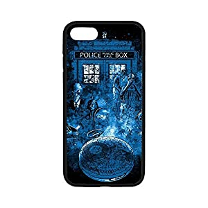 TPU Cellphone Case for IPhone 7,Case for iPhone 7,TARDIS Case Cover For iPhone 7,Cover for iPhone7(4.7 inch),Cute TARDIS Rubber TPU Shell Case Cover Protector For iPhone 7