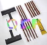 kit de réparation crevaison du pneu pour voiture + 13 mèches ciments de caoutchouc...