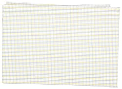 Birla Century Men's Shirt Fabric (Yellow and White)