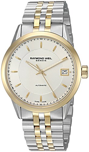 Raymond-Weil-Mens-Freelancer-Swiss-Automatic-Stainless-Steel-Casual-Watch-ColorTwo-Tone-Model-2740-STP-65021