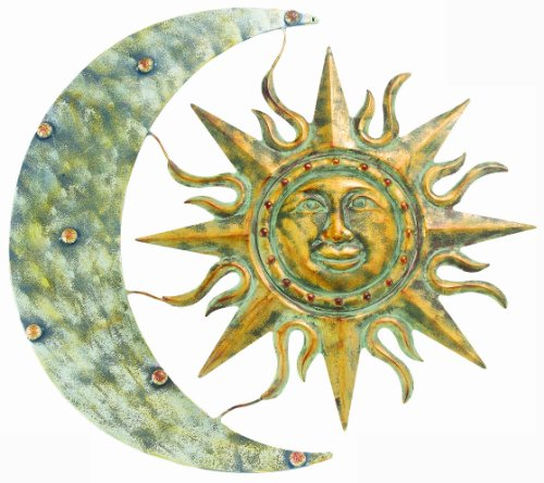 Nice Gardman Aztec Sun and Moon Wall Art Long x Wide Amazon Price Buy Now price as of Apr