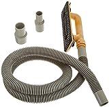 hyde tools 09165 dust free drywall vacuum hand sander with 6 foot hose