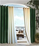 Outdoor decor Gazebo Indoor Outdoor Window Panels, 84-Inch L by 50-Inch W, Forest