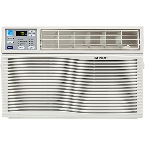Sharp AFQ60VX Energy Star 6000 BTU Window-Mounted Air Conditioner with Rest Easy Remote Control, 110-volt