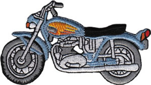 Application Blue Street Bike Patch - 1