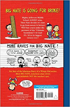 Big Nate Goes For Broke Lincoln Peirce 9780061996610