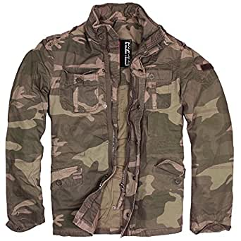 Delta Industries Britannia Jacket, light woodland, Groesse S