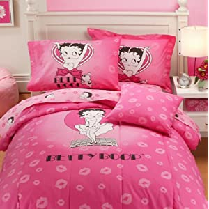 discount comforter sets popular bath pink betty boop full comforter