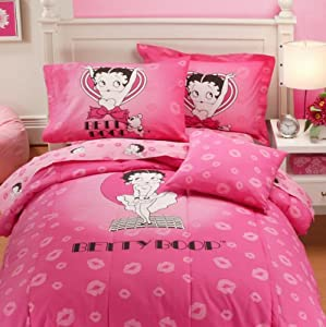 Amazon.com - Popular Bath Betty Boop Full Comforter, 76-Inch by 86