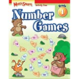 MATHSMART ACTIVITY:NUMBER GAMES,GRADE 1