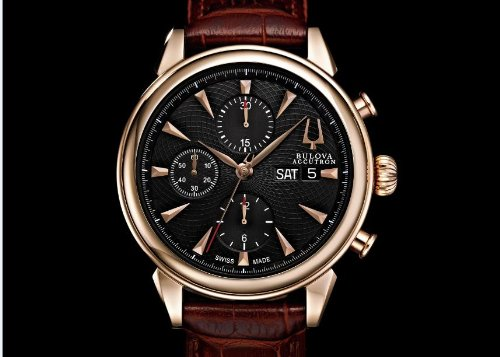 accutron men watches bulova accutron men s rose gold gemini bulova accutron men s rose gold gemini chronograph watch 64c104