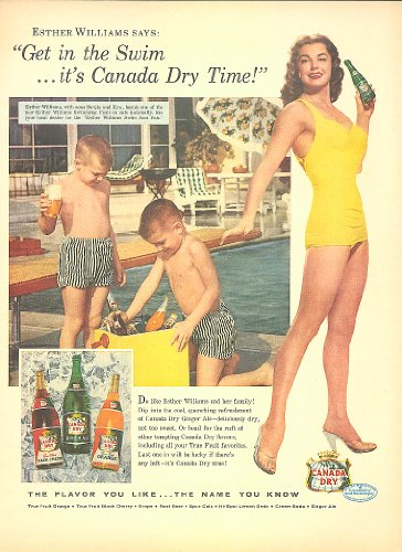 esther-williams-for-canada-dry-ginger-ale-ad-1956