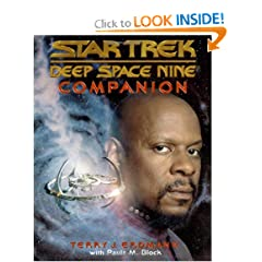 Deep Space Nine Companion (Star Trek Deep Space Nine) by Terry J. Erdmann and Paula M. Block