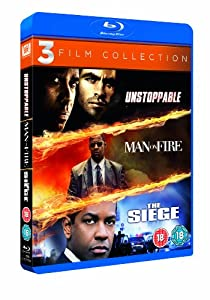Unstoppable / Man on Fire / The Siege Triple Pack [Blu-ray] [1998]