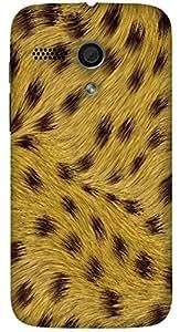 Incredible multicolor printed protective REBEL mobile back cover for Motorola Moto G (2014) 1st Gen D.No.N-L-14300-MG1