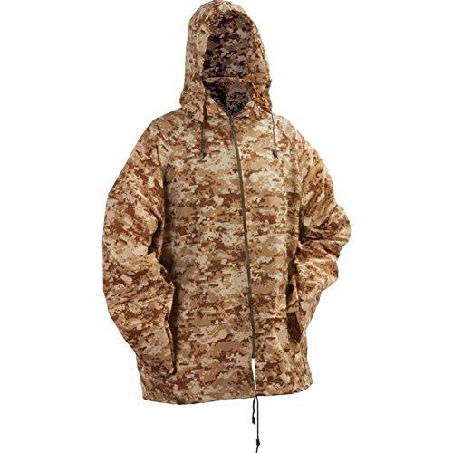 Classic Safari Digital Camo Rain Jacket , D Camo Rain Jacket W/Hood Xl2X front-516418