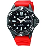 Mens Seiko Diver Solar Powered Watch SNE245P9
