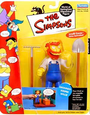 The Simpsons World of Springfield Groundskeeper Willie Series 4 - 1