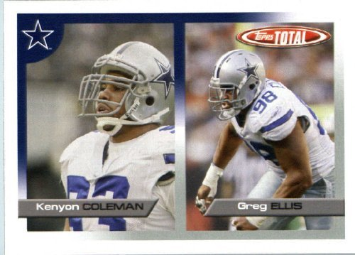 2005 Topps Total Football Karte ( ) # 141 Greg Ellis Dallas Cowboys