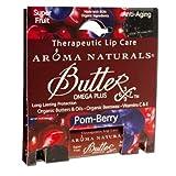 Aroma Naturals Pom Lip Balm Berry Butter 0.15 Ounce