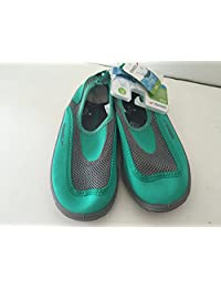Speedo Water Shoes Kids Junior Size X-large(11-12) Green/grey