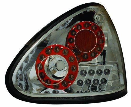 Ipcw Ledt-1112Cs Platinum Smoke Led Tail Lamp - Pair