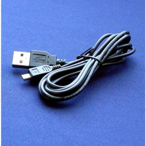 Olympus VR-340 Digital Camera Compatible USB 2.0 Cable Cord – CB-USB7 Model – 5 feet Black – Bargains Depot®