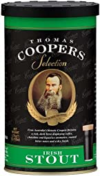 Coopers Brewmaster Selection Irish Stout No Boil Home Brew Beer Kit
