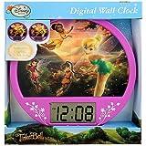 Disney Fairies Tinker Bell Lenticular Digital Wall Clock