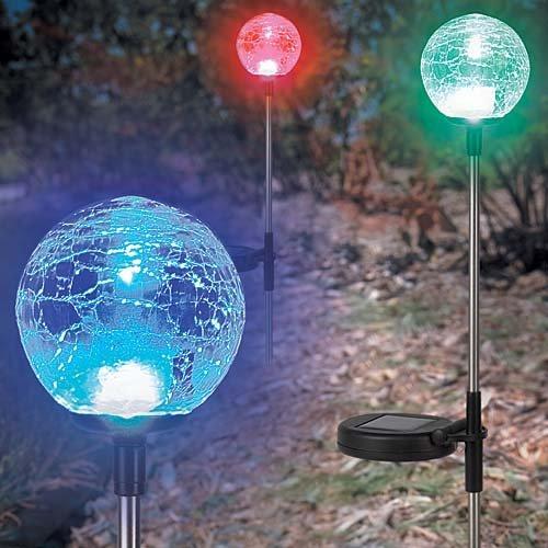 3 Pack Solar Garden Balls