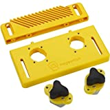 Magswitch STARTER KIT Includes Base, 2 Mag Jig 150, Reversible Feather Board (Color: Yellow)