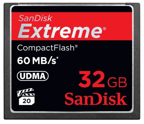 Sale!! SanDisk 32 GB Compact Flash Memory Card SDCFX-032G-X46 (Black)