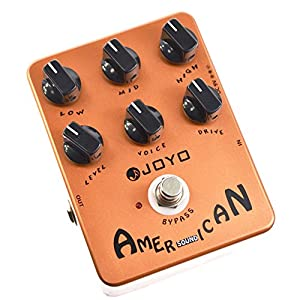 joyo jf 14 american sound effects pedal amplifier simulation with voice control. Black Bedroom Furniture Sets. Home Design Ideas