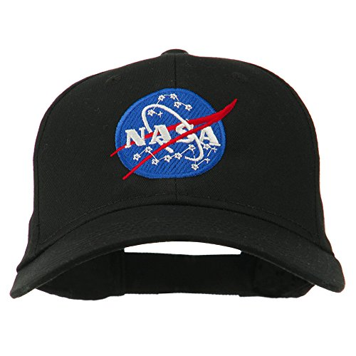 nasa-insignia-embroidered-cotton-twill-cap-black-osfm