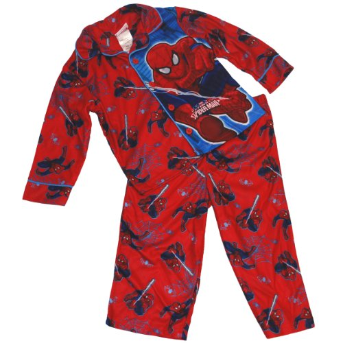 Marvel Little Boys' Spiderman Coat Pajama Set