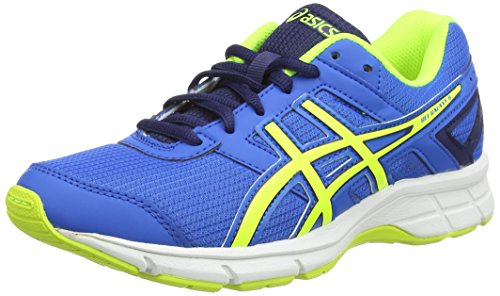 ASICS - Gel-Galaxy 8 Gs, Scarpe Da Corsa da unisex - adulto, blu (electric blue/flash yellow/ind 3907), 37