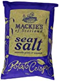 Mackie's of Scotland Sea Salt Potato Crisps 150 g (Pack of 6)