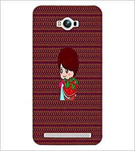 PrintDhaba Cartoon D-2666 Back Case Cover for ASUS ZENFONE MAX ZC550KL (2016) (Multi-Coloured)