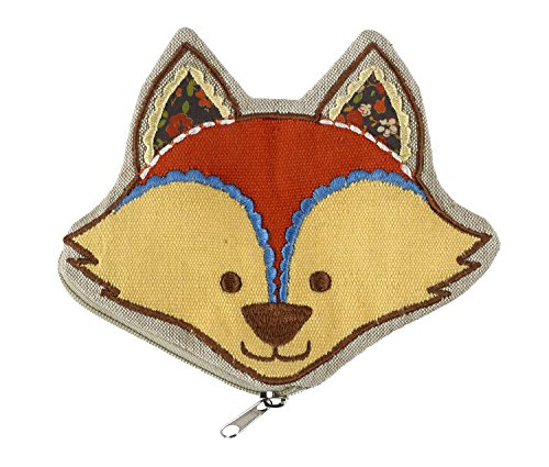 ORE Originals Zippee Coin Pouch, Fox
