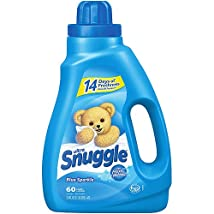 Snuggle Blue Sparkle with Fresh Release Liquid Fabric Softener 50 Oz