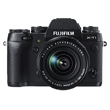 Fujifilm X-T1 16MP Compact System Camera with XF 18-55mm f2.8-4.0 Lens