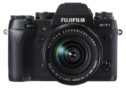 Fujifilm X-T1 16 MP Compact System Camera with 3.0-Inch LCD and XF 18-55