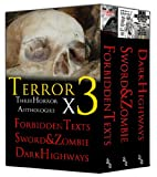 img - for Terror x 3: Three Horror Anthologies book / textbook / text book