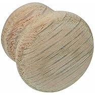 Waddell Mfg Co 921DIO-1.25 Oak Round Knob-1-1/4