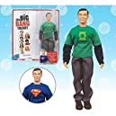 Big Bang Theory Sheldon Green Lantern/Superman 8-Inch Figure