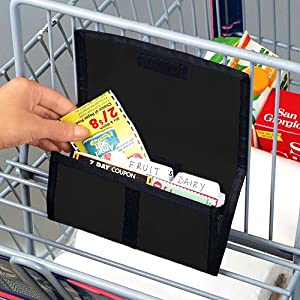 COUPON ORGANIZER (BLACK)